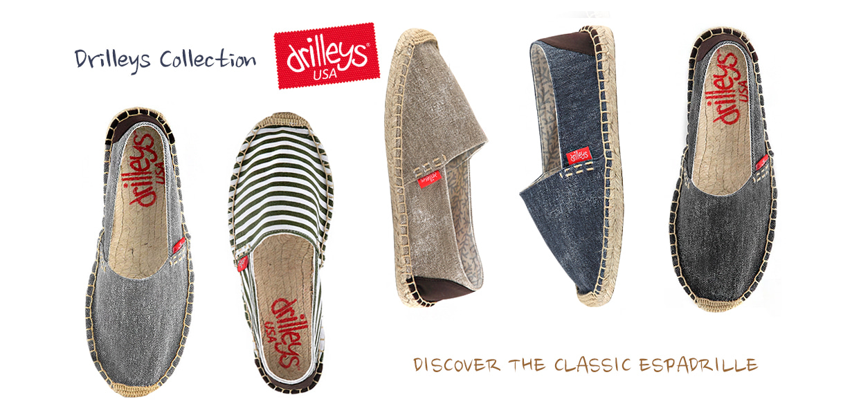drilleys espadrilles